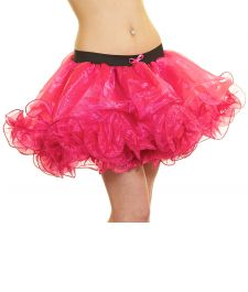 Crazy Chick Pink Tissue Ruffle TuTu Skirt