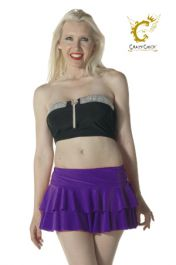 Crazy Chick Purple RARA Skirt