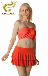 Crazy Chick Red RARA Skirt