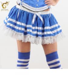 Crazy Chick Sexy 3 Layers Sailor TuTu Skirt