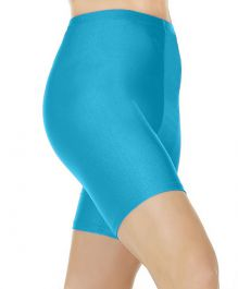 Crazy Chick Turquoise Cycling Shorts
