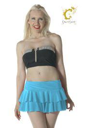 Crazy Chick Turquoise RARA Skirt