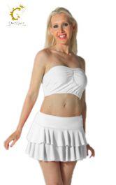 Crazy Chick Women White RARA Skirt