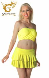 Crazy Chick Yellow RARA Skirt