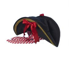 Delux Pirate Hat W/bandana