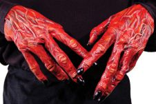 Devil Halloween Hands