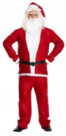 Dress UP Adult Santa Suit 5 Pcs