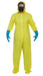 Dress Up Adult Yellow Protective Suit
