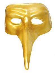 Elephant Gold Eye Mask