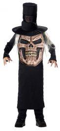 Evil Skull Mad Hatter Child Costume