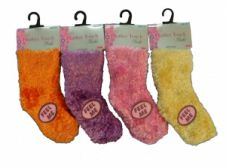 Feather Soft Touch Girls Socks