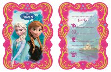 Frozen Invitation & Envelops