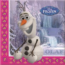 Frozen OLAF Lunch Napkins