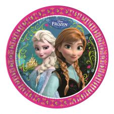 Frozen Paper 23 CM Plates (Pack of 8)
