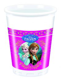 Frozen Plastic Cups 200ML (Pack of 8)