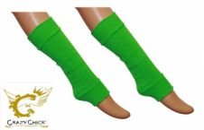 Girls Green Leg Warmer