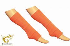 Girls Orange Leg Warmer