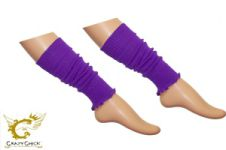 Girls Purple Leg Warmer