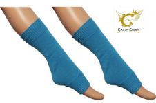 Girls Turquoise Leg Warmer