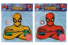 Glow in the Dark SpiderMan Sticker (Assorted Colours & Designs)