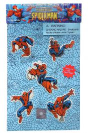 Glow in the Dark SpiderMan Sticker