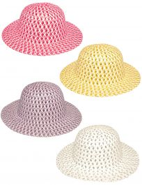 Go Glam Bonnets Assorted Colours
