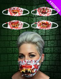 Gofy Teeth Mask 4 Assorted