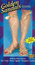 Gold Goddes Sandals