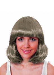 Grey Mid Wig