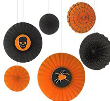 Halloween Paper Fan Decoration