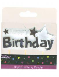 Happy Birthday Candle Pick Star