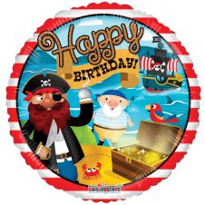 Happy Birthday Pirate Treasure (18inch)