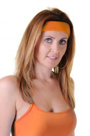 Head Band Neon Orange 12 Pcs