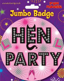 Hen Party Giant Badge