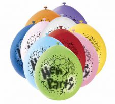 Hen Party Printed Balloons (Pack of 10)