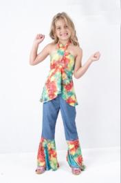 Hippie Girl Children Costume