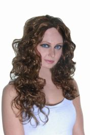 Hollywood Starlet Wig Brown