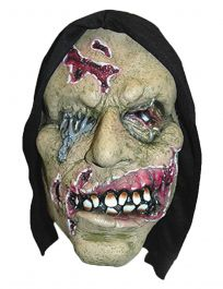 Hooded Witch Latex Mask
