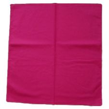 Hot Pink Cotton Bandana (1 Dozen)