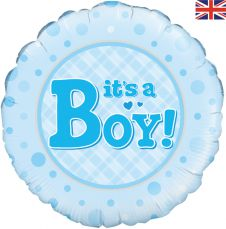 Its a Boy Balloon (18 Inches)