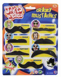 Jokes Gags Crazy Moustache