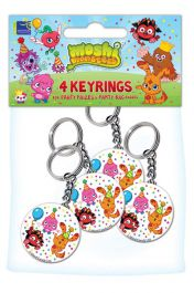 Moshi Monster Key Rings