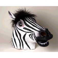 Latex Zebra Mask