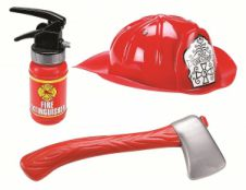 Lets Play Fireman Kit (Pack of 3)