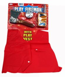 Let Play Fireman Kit (4 Pcs )