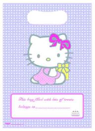 Hello Kitty Loot Bags (Pack of 8)