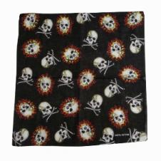 Mixed Skull Bandana (1 Dozen)