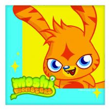 Moshi Monster Napkins (2 ply) Pack of 16