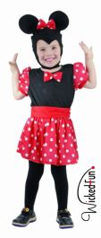 Mouse Girl Toddler Costume