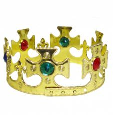 Multi Size Gold King Crown(59cm)